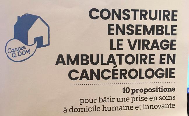 CancerAdom carnet d'idées citoyennes pour construire le virage ambulatoire en cancérologie